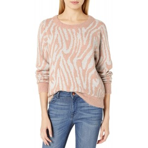 Rebecca Taylor Women's Animal Print Sweater at Women's Clothing store