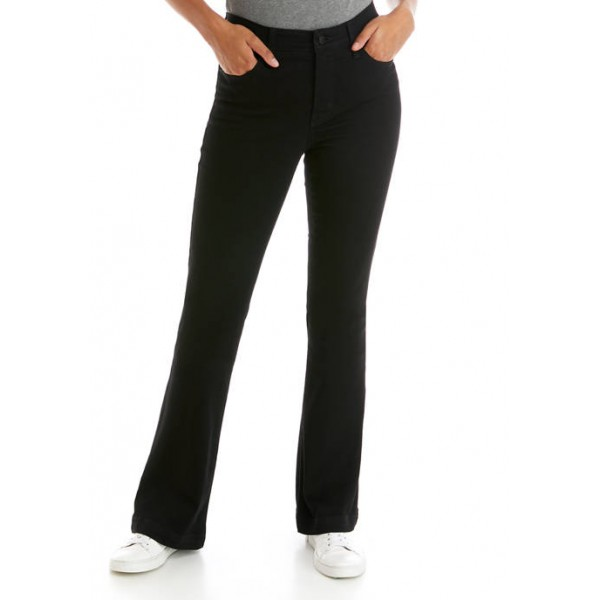 Crown & Ivy™ Women's Mid Rise Flare Jeans