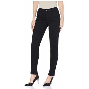 DG2 by Diane Gilman 309425 Superstretch Black Denim Skinny Jeans 2P at  Women's Jeans store