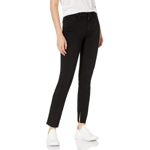 PAIGE Women's Cindy Transcend High Rise Raw Hem Straight Jean at  Women's Jeans store