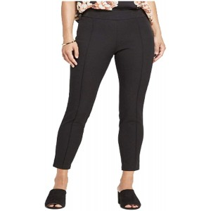 A New Day Women's Skinny Ankle Pintuck Pants - Black - at Women's Clothing store