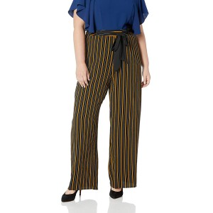 City Chic Women's Apparel Women's Wide Legged Stripped Palazzo Pant at  Women's Clothing store