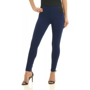 Rekucci Collection Women's Ponte High Waisted Super Slim Fit Pants XX-Small Sapphire at  Women's Clothing store