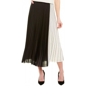 Anne Klein Women's Pleated Maxi Skirt at  Women's Clothing store