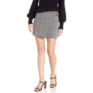 Jack Women's Plaid But True Knit Skirt with Buckle at  Women's Clothing store