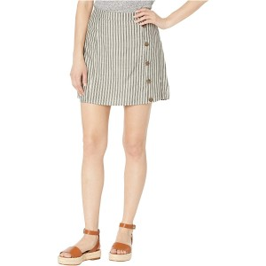 Jack Women's Pretty Little Stripe Rayon Skirt with Buttons at  Women's Clothing store