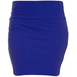 KMystic Basic Mini Skirt with Wide Waist Band at Women's Clothing store