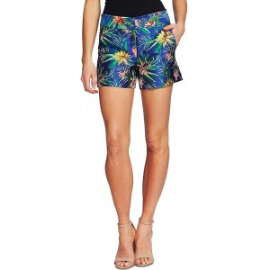CeCe Tropical Jacquard Shorts Tropic Night 14 at Women's Clothing store