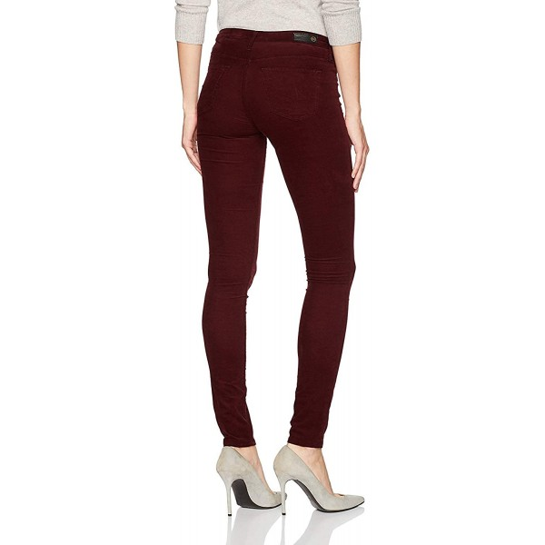 AG Adriano Goldschmied Women's The Legging Super Skinny Stretch Corduroy 26 Deep Current at Women's Clothing store