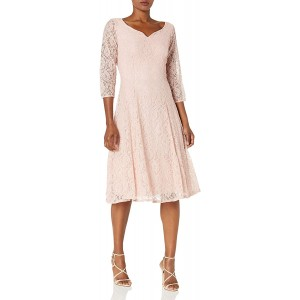 S.L. Fashions Women's Fit and Flare Dress at  Women's Clothing store