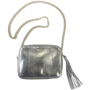 Victorias Secret Official Crossbody Bag Of The Fashion Show Silver With Chain Handbags