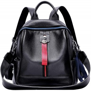 ALTOSY Genuine Leather Backpack for Women Convertible Backpack Purse Casual Shoulder Bag for Ladies