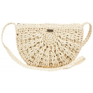 Roxy Chips and Guacamole Straw Purse Natural One Size Handbags