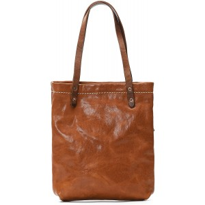 Simple Tote made by leather Tan