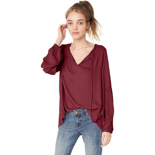 Jack Women's Lauren Canyon Rayon Crepe Top at Women's Clothing store